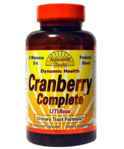 Cranberry Complete with UTI Rose 60 capsules